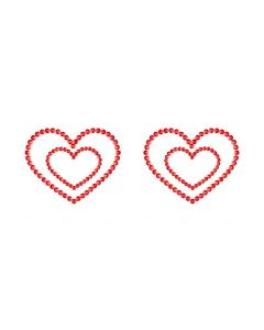 Skin Jewelry Mimi Hearts Rood