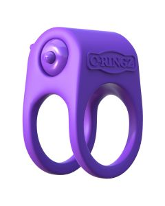 C-Ringz Silicone Duo-Ring Cockring Paars