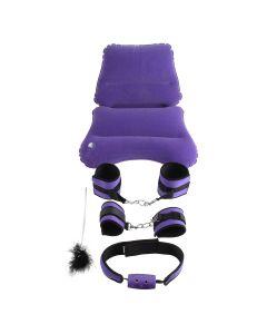 Fetish Purple Pleasure Bondage Set