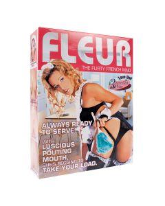 Fleur The Flirty French Maid Doll Opblaaspop