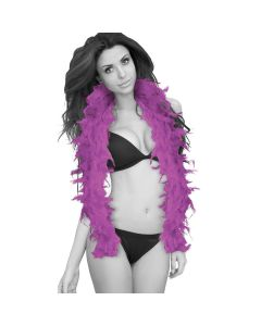 Ouch! Seductive Feather Boa Paars