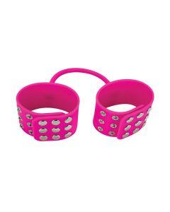 Ouch! Silicone Cuffs Handboeien Roze