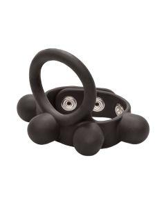 C-Ring Ball Stretcher Cockring Large Zwart