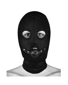 Ouch! Extreme Mesh Balaclava Masker Zwart