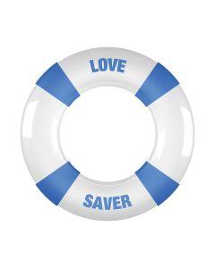 Shots Toys Buoy Cockring Love Saver blauw