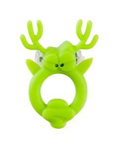 Beasty Toys Rockin Reindeer Cockring Groen