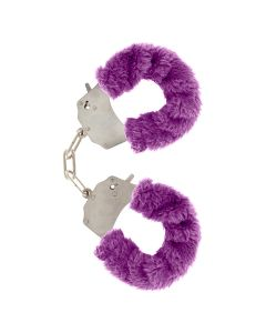 ToyJoy Furry Fun Cuffs Purple