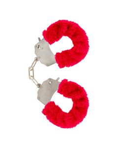 ToyJoy Furry Fun Cuffs Rood