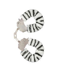 ToyJoy Furry Fun Cuffs Zebra