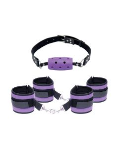 Fetish Purple Pleasure Set