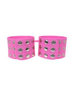 Fetish Elite Silicone Cuffs Pink