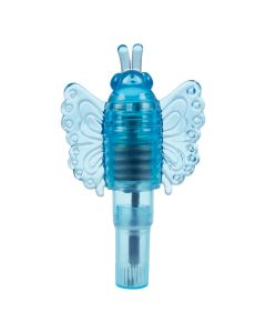 Rocket Tickler Butterfly Stimulator Blauw