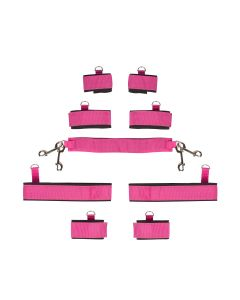 Sinners Full Body Restraints Set Roze