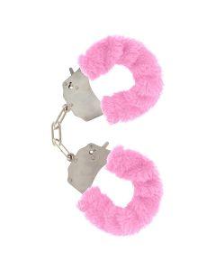 ToyJoy Furry Fun Cuffs Pink