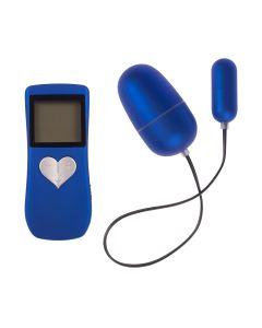 Body & Soul Remote II Vibrerende Eitjes Blauw
