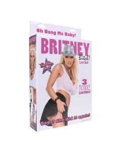 Britney Bitch Love Doll Opblaaspop