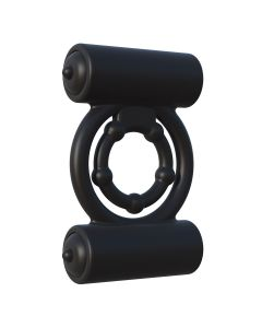 C-Ringz Extreme Double Trouble Cockring Zwart