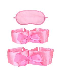 Fetish Bow-Tie Bondage Kit Roze