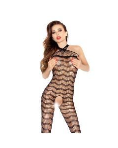 Passion Erotic Line Bodystocking Catsuit BS022 Zwart