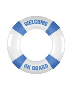 Shots Toys Buoy Cockring Welcome On Board blauw