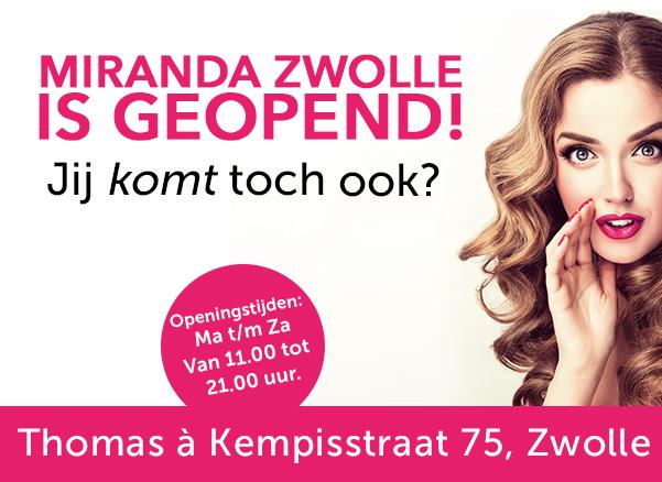Nieuw filiaal in Zwolle!