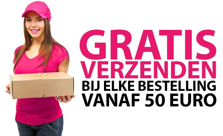 Gratis Verzenden vanaf 50 euro