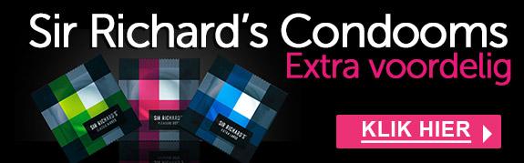 Voordelige condooms van Sir Richard